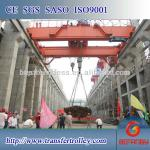 Warehouse EOT crane on rail