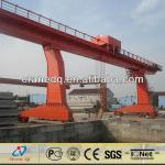L Type Leg Single Girder Gantry Crane 40Ton