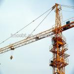 5t hydraulic self-erecting contsruction tower crane qtz63(TC6310)-
