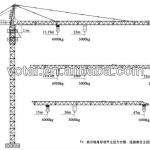 cost-effective construction machine XCMG tower crane-