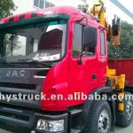 JAC 6x2 SQ8SK3Q lorry truck with crane