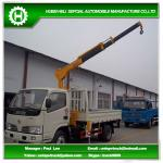 2.5 tons truck with crane