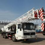 silon knuckle boom truck mounted crane for the model QY25U-