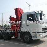 20T 4 articulated Boom Truck with Crane SQZ4304-