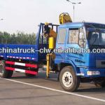 Famous brand liuqi truck mounted folding boom crane 6.3tons for hot sales-
