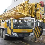 XCMG QY70k original China used mobile truck cranes are exported from shanghai china-