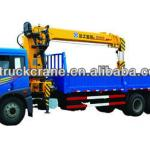 XCMG truck mounted Crane 10ton SQ10SK3Q ,famous brand new truck mounted crane-