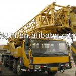 XCMG QY65k original China used mobile truck cranes are exported from shanghai china