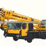 Low Price China New Hydraulic 20T Truck Crane QLY20(Made In China) For Sale-