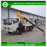 2.5 tons mini truck mounted crane