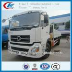 Famous brand Dongfeng tianlong truck mounted crane for hot sales