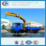 Famous brand Dongfeng kuncle boom crane truck 8tons for hot sales