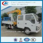 good technology isuzu truck with crane 3.2 ton for sales