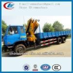 Famous brand Dongfengtruck with crane 10 ton for hot sales