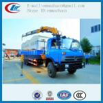 Famous brand Dongfeng truck with crane 8tons for hot sales