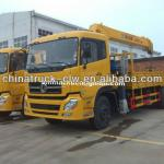 Famous brand Dongfeng tianland cargo mounted crane12tons for hot sales