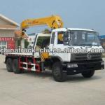 Dongfeng 6x4 wreck mounted crane 12tons for hot sales