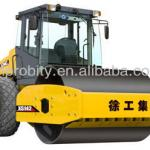 14ton XCMG hydraulic single drum vibratory compactor XS142 road roller with Cummins engine