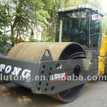 hydraulic single drum vibratory roller provided by factory with professional after-sale service-
