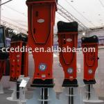 Box-silenced type hydraulic breaker-
