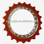komatsu pc200-6 construction machine parts standard sprocket-