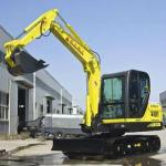 6 ton chinese mini crawler excavator with yammar engine(XCMG brand)-