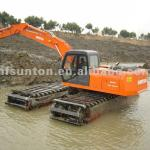 Hot! SUNTON SE200 Amphibious Excavator Swamp Excavator for Sale!-