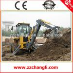 New type WZ30-25 tractor with front end loader and backhoe