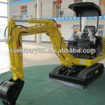 High quality 1.8 ton cheap mini excavator for sale with CE certificate-
