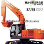20ton ZX200-3 HITACHI Excavator with 0.91Hm3 bucket for Crawler Excavator for hydraulic excavator for sale