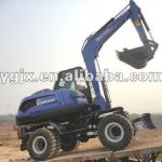 4 wheel drive excavator,360 turn, building and vally dam construction machine with the best price,0,3m3,2013 machine company-