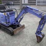 Mini Backhoe Used Hitachi EX 5 - 2 <SOLD OUT>-