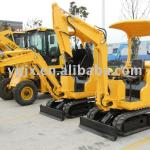 Mini 1 ton, small size crawler/tracked excavator with good price for digging of agricluture-