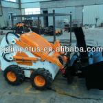 New style mini skid steer loader with snow blower-