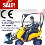 mini skid steer loader,dingo with seat and sunproof,B&S engine,CE paper-