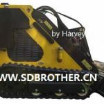 Diesel Engine Small Skid Steer Loader SG70 mini Skid Steer Loader-