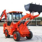 3.7 Tons mini backhoe loader-