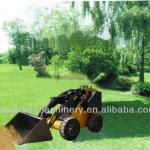 Mini Wheeled Skid Steer Loader with CE-