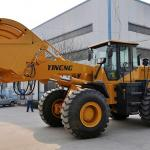 5T front end loader (5000kg+3m3+Shangchai CATengine+ZL50 transmission+ Heavier chassis)-