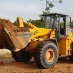 type of bucket front loader