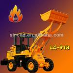 LG918-2 compact wheel loader machinery for small industries