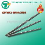 Inch Size Keyway Broach with Shim-