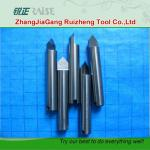 Solid carbide engraving cutter for PCD