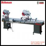 Double-head aluminum cutting saw from china machine