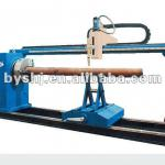 CNC flame,plasma intersecting pipe cutting machine