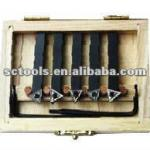 5PC INDEXABLE CARBIDE TURNING TOOL SET-