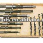 11PC METRIC SIZE HSS ADJUSTABLE REAMER SET-