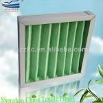 Aluminum Frame Iron Mesh on both Side Synthetic material Filter