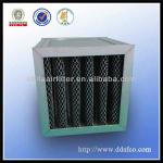 Range hood activated carbon filter