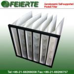 Aerodynamic Self-supported Pocket Filter